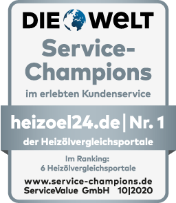 Die WELT - Service Champions Nr.1 HeizOel24