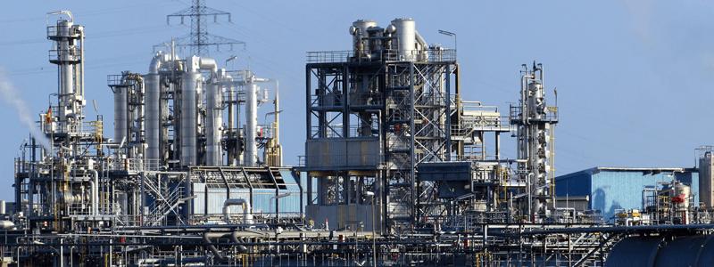 Erdöl Raffinerie